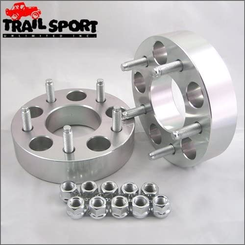 trailsport4x4 1.25 inch Adapter Kit for Ford - 5x4.5 Hub to 5x5.5 Wheel