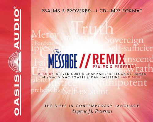 Mp3 Message (The Message Bible Remix Psalms & Proverbs)
