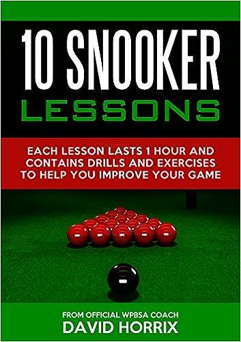 10 SNOOKER LESSONS VOLUME 19: VOLUME 19
