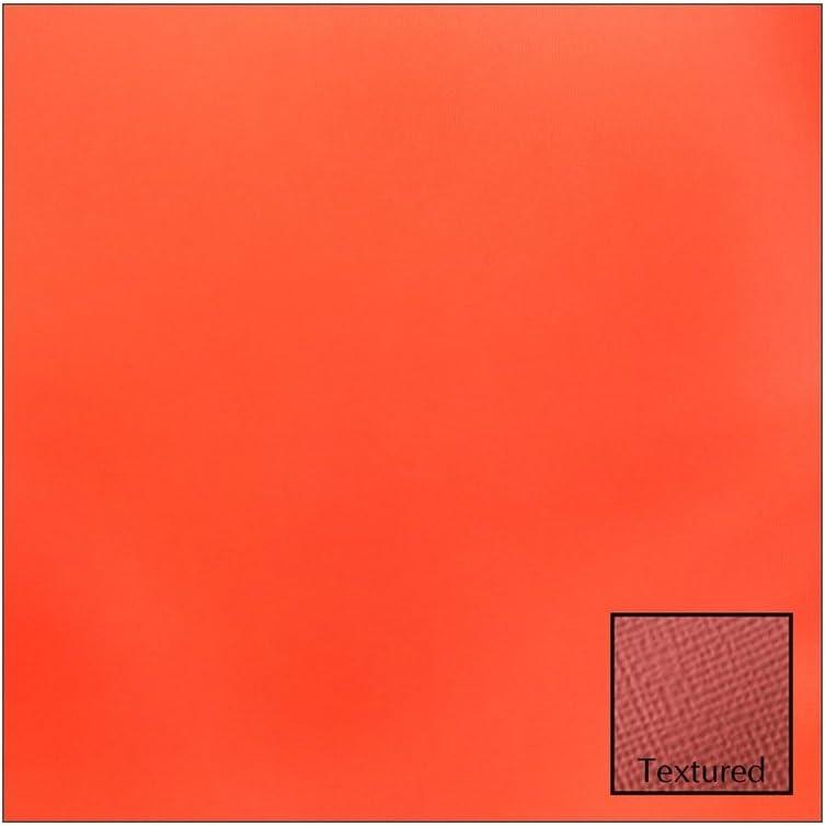 12x12 American Crafts Cardstock Textured Crimson 25 Pack
