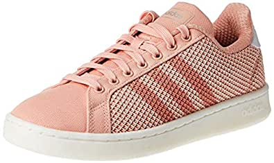 Adidas GRAND COURT, Women's Tennis Shoes, Pink (Dust Pink/Dust Pink/Clear Orange), 5.5 UK, (38 2/3 EU),F36501