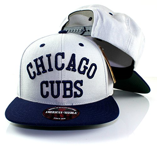 Chicago Wool Cubs Jacket - MLB American Needle Scripteez Cooperstown Wool Adjustable Snapback Hat (Chicago Cubs)