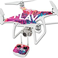 Skin For DJI Phantom 4 Quadcopter Drone – Flava   MightySkins Protective, Durable, and Unique Vinyl Decal wrap cover   Easy To Apply, Remove, and Change Styles   Made in the USA