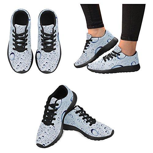 Interestprint Mujeres Jogging Running Sneaker Ligero Go Easy Walking Casual Comfort Zapatillas De Running Multi 19