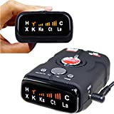 Radar Detector with Voice Alert and Car Speed Alarm System and 360 Degree Laser Radar Detector Kit This is a fully featured high end dash model Laser Radar Detector and provides ultra performance!!!  SPECIFICATION: Material: Plastic Size: 5.7 x 3.3 x...