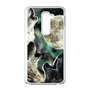 Howling under moon Sirius Cell Phone Case for LG G2