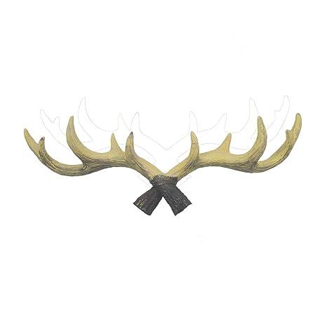Rústico Ciervos Cuernos Cuernos Gancho, Nordic Amorous ...