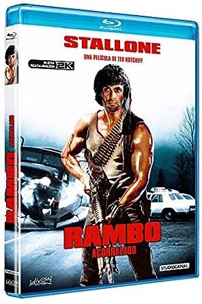 Acorralado (Rambo) [Blu-ray]: Amazon.es: Sylvester Stallone, Richard Crenna, Brian Dennehy, David Caruso, Ted Kotcheff, Sylvester Stallone, Richard Crenna: Cine y Series TV