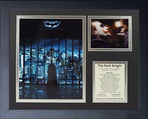 """Legenden Sterben Nie """"Batman  The Dark Knight"""" gerahmtes Foto Collage, 11 x 35,6 cm von Legends Never Die"""
