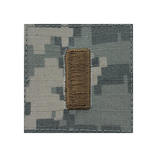 Authentic Military Rank Insignia US Made (2nd Lieutenant - ACU) ()