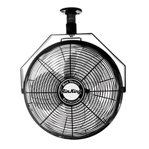 Air King 9718 18-Inch Industrial Grade Ceiling Mount Fan ()