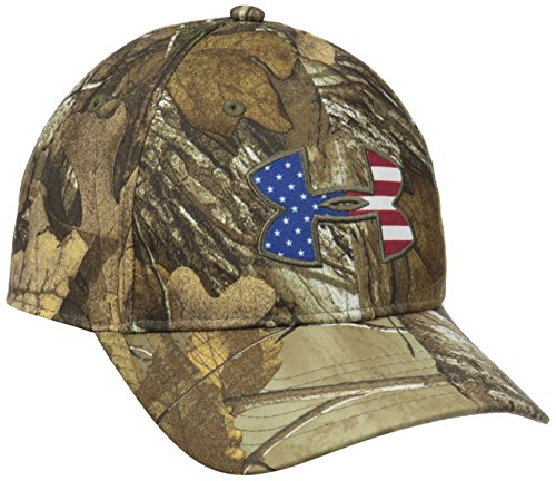 Under Armour Men's Camo BFL Cap, Realtree Ap-Xtra /White, One Size (White Camo Under Armour Hat)