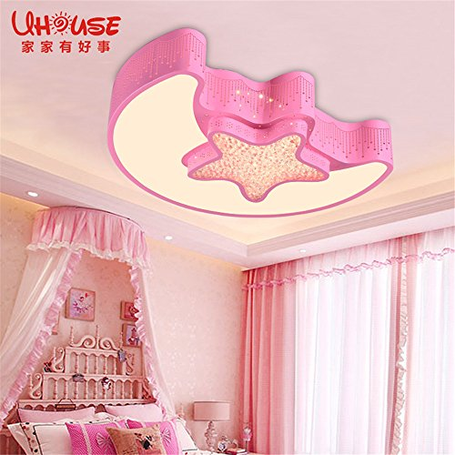 Leihongthebox Ceiling Lights lamp The stars of the Moon Child room ...