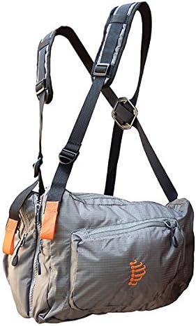 Ribz – Mochila Frontal Funda Frontal Pack, Color Gris - Granite Grey, tamaño 22 x 16 x 10 cm, 8.2 Liter, Volumen Liters 8.2: Amazon.es: Deportes y aire libre