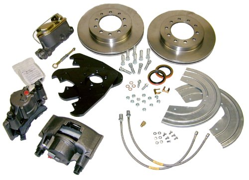 SSBC A135-3 Front Drum to Disc Brake Conversion Kit ()