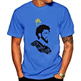 j cole app - Christopherly Men's J. Cole Tee Shirt SkyBlue Small