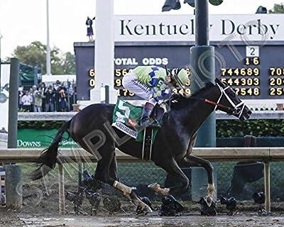 Always Dreaming 2017 Kentucky Derby Winner 16x20 Photo Poster