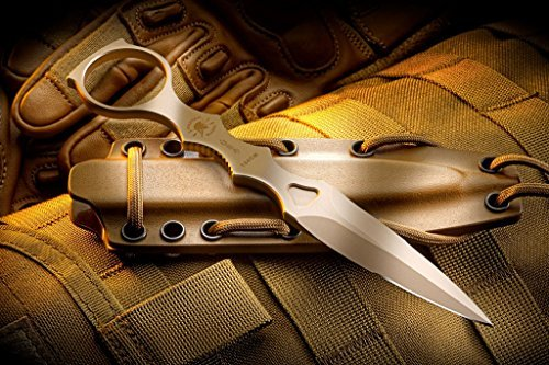Spartan Blades CQB Tool Fixed Blade Fighting Knife Kydex Sheath