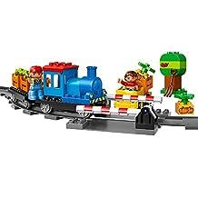 LEGO DUPLO Town 10810 Push Train Building Kit (45-Piece)