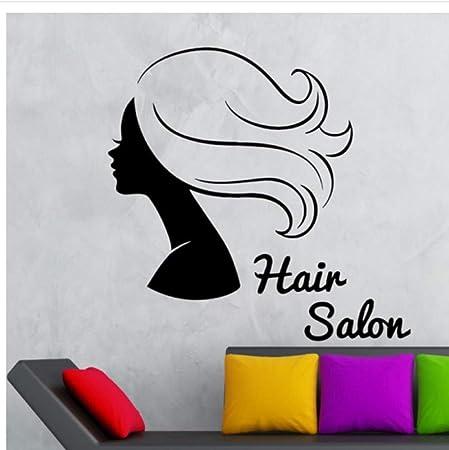 xiaoshuaige Peluquería Peinado Chica de Belleza Pegatinas de ...