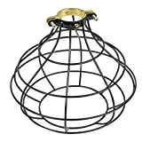 Rustic Design Industrial Look Sphere Pendant Lamp Cage by...