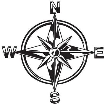 Isee 360 Tribal Compass Vinyl Die Cut Decalsrenault Duster Bumper
