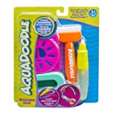 AquaDoodle NEON Brush, pen, and stencils with bonus spill-proof cup