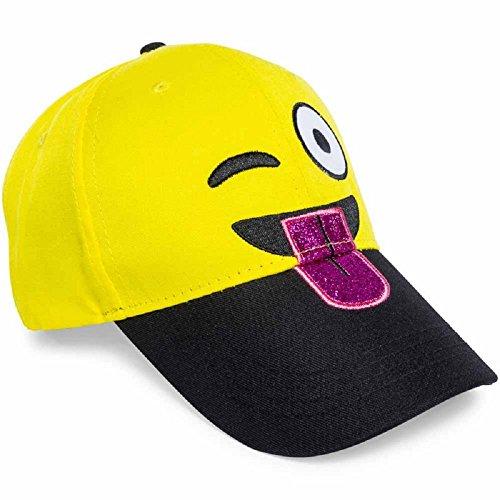 Emoji Baseball Cap (Tongue Out)