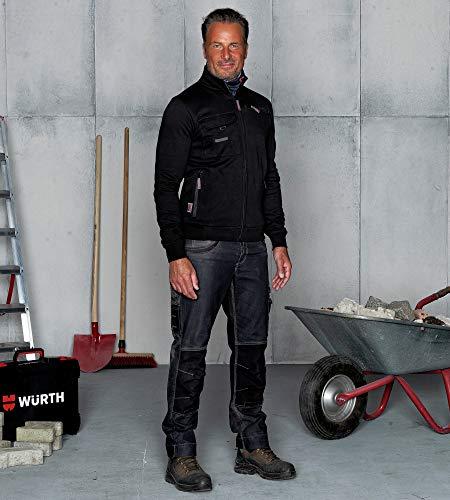 Noir Zippée Sweat Dynamic Modyf Würth W40qaz