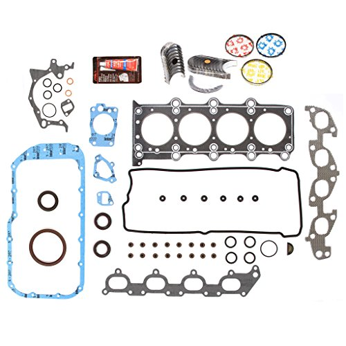 (Evergreen Engine Rering Kit FSBRR8004EVE\0\0\0 Fits 99-03 Suzuki Chervrolet 1.8 2.0 DOHC J18A J20A Full Gasket Set, Standard Size Main Rod Bearings, Standard Size Piston Rings)