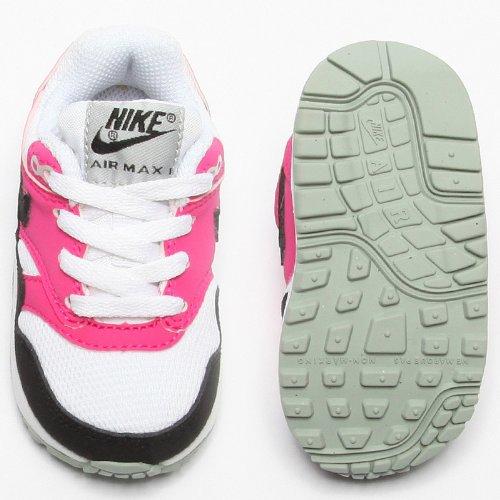 Nike Air Max 1 TD Multi-Kinder Sneaker weiß