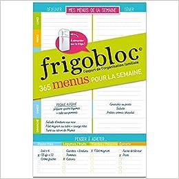 Book's Cover of Frigobloc Mes Listes de menus (Français) Calendrier – 8 juillet 2020