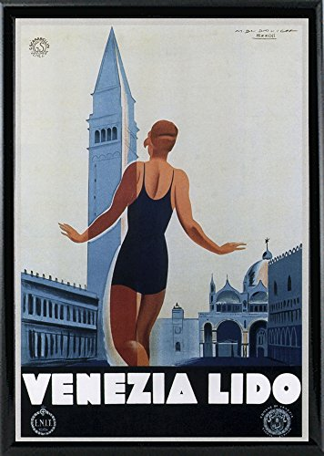 Venezia Lido-VINAPP121070 Framed Print 20