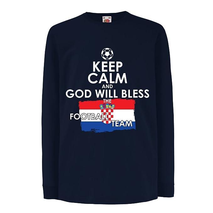 lepni.me Niños/Niñas Camiseta Campeonato Mundial de Fútbol de la Copa Mundial 2018, Equipo Nacional croata de Fútbol: Amazon.es: Ropa y accesorios