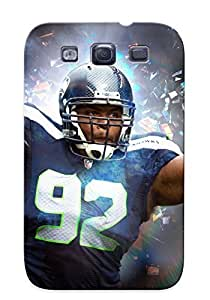 Appearance Snap-on Case Designed For Galaxy S3- Seattle Seahawks Nfl Football(best Gifts For Lovers)