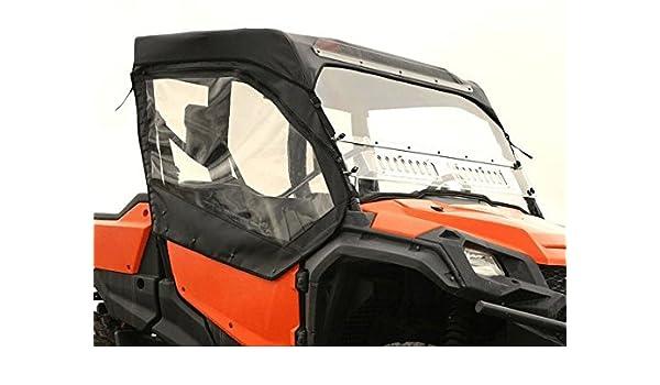 Honda Pioneer 1000 FULL AERO-VENT WINDSHIELD 5 /& 2 seater