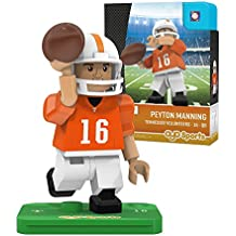 NCAA Tennessee Volunteers Peyton Manning Gen 2 Player Mini Figure, Small, Black