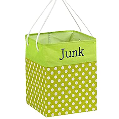 Clothes Basket Laundry Basket Clothing Storage Barrels Toy Organiger Green