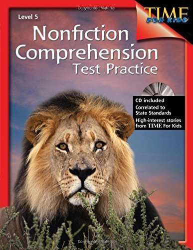 Nonfiction Comprehension Test Practice (Nonfiction Resources with Content from Time for Kids) by Shell Education (2006) Perfect Paperback