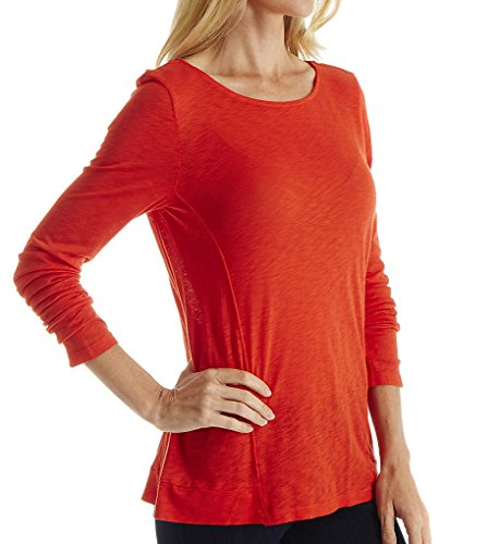 Splendid Womens Slub Long Sleeve
