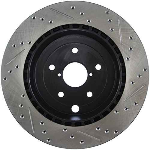 - StopTech 127.47030R Sport Drilled/Slotted Brake Rotor (Rear Right), 1 Pack
