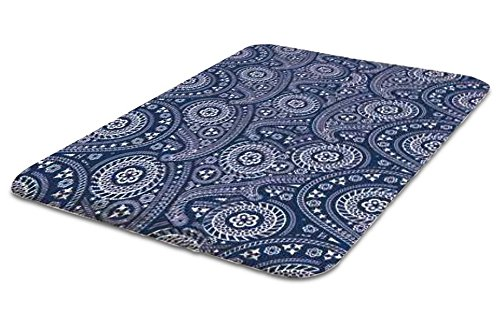 Laundry Solutions by Westex Non-Skid Portable Paisley Design Ironing Board Pad, 20 x 29, Blue 20 x 29 Westex International IPAD08