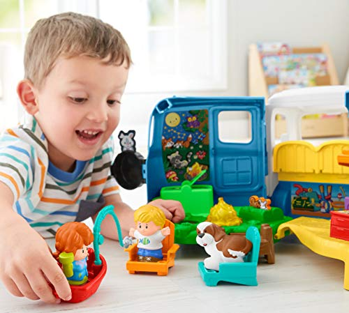 510wynfJHvL - Fisher-Price Little People Songs & Sounds Camper