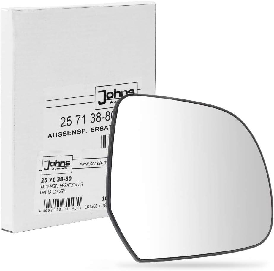 Specchietto Esterno Johns 25 12 38-80 Vetro Specchietto