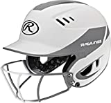 Rawlings Sporting Goods Junior Velo Sized Softball Helmet, White Silver