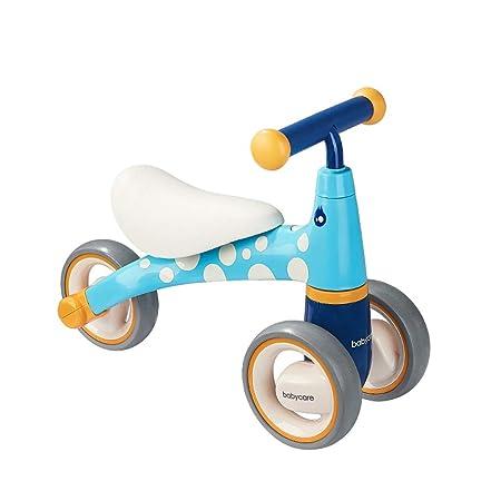 Fenfen-cz Triciclo para niños Bicicleta equilibrada sin ...
