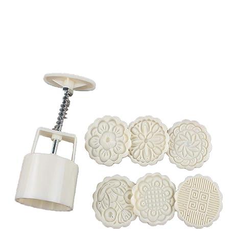 Molde para tartas de luna pequeña y molde para molde de galletas, molde para prensar