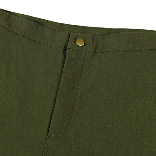Slim Pantalon Manner Collant Casual Fille Elastique Jeans Longue Mode Femme Confort Printemps Denim Bureau Legging Uni Crayon Pants Vert Bold Taille Haute qZAXdwBSA