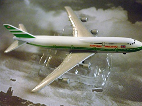 Cathay Pacific Hong Kong Airline 747-300 Jet Plane 1:600 Scale Die-cast Plane Made in Germany by (Cathay Pacific Airlines)