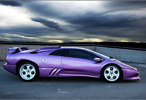 Lamborghini Diablo Poster